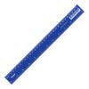 Линейка 30 см, пластиковая, синяя