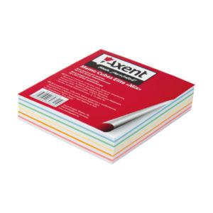 Блок бумаги для заметок Elite MIX 90х90х20мм, 210 листов