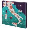 Записная книжка MAPS, 125х125мм, 80л, тв. обложка, клетка, белый блок 25085