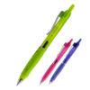 Ручка гелевая с трехранным резиновым грипом ERGO & QUICK dry ink, синяя