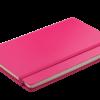 Блокнот деловой STRONG LOGO2U, А5-, 80л., тв. обложка из кожзама, в клетку, розовый 24726