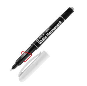 Маркер перманентный White Permanent 2686 белый, 1,2мм