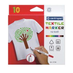Набор маркеров для ткани Textile 6 шт., 1,8мм