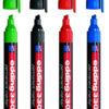 Маркер перманентный Permanent e-330 1-5мм, клиновидный (3 цвета)