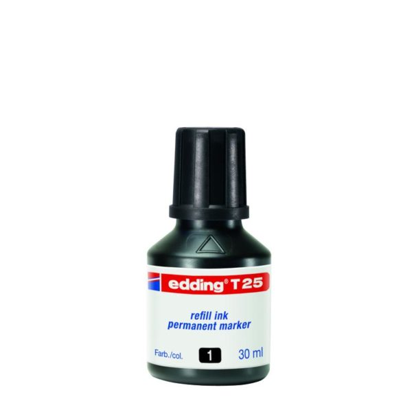 Чернила для заправки перманентных маркеров e-390 Edding e-T25 (3 цвета)