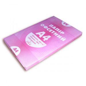 Бумага писчая А4, 60г/м2, 250 листов