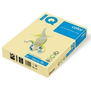Бумага цветная PASTELL YE23, Yellow, А4, 80г/м2, 500 листов, желтый