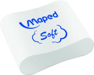 Ластик ESSENTIALS SOFT MEDIUM Maped MP.049411 эргономичная форма