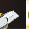 Нож канцелярский ULTIMATE 18 мм в пласт. корпусе с мет. напр., автофиксация лезвия 27589