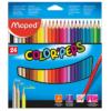 Карандаши цветные COLOR PEPS Flex Box  12 цветов в раздвижном пенале