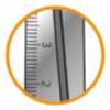 Ножницы детские ESSENTIALS 130мм MP.464212 с линейкой на лезвии 27625