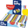 Ластик MINI SOFTY Maped MP.511780 в картонном держателе 27534