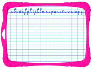 Доска для рисования SHATTERPROOF двухсторонняя, гибкая, с комплектом