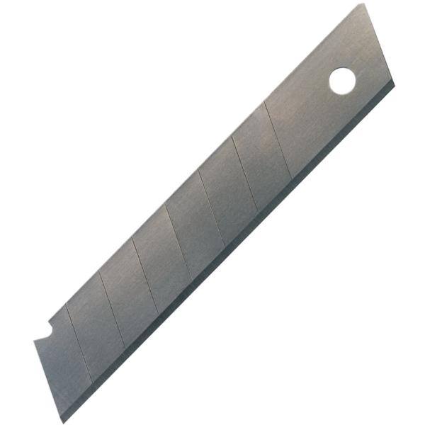 Лезвия сменные для ножей, 18мм, 10 лезвий в упаковке