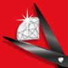 Ножницы офисные DIAMOND 170мм, лезвия с алмазным покрытием 27709