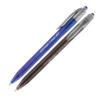 Ручка шариковая автоматическая Trio RT UX-109, 1мм, 1100м (син, черн)