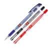 Ручка шариковая Fine Point UX-110, 0,7мм, 1500м (син, черн, красн)