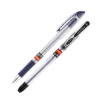 Ручка шариковая Maxflow UX-117, 0,7мм, 2000м (син, черн, красн, зел, фиол)