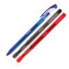 Ручка гелевая Trigel UX-130, 0,5 мм, 1200м (син, черн, красн)