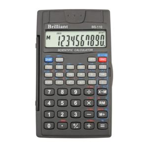 Калькулятор инженерный BRILLIANT BS-110, 8+2р, 56 функций