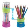 Карандаши цветные COLOR PEPS Flex Box  12 цветов в раздвижном пенале 27412