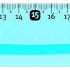 Линейка UNBREAKABLE 30 см ударопрочная, пластиковая, тонированная 28079