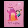 Блокнот, детский MONSTER, формат А6, 64л, твердая обложка, в клетку, розовый