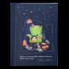 Блокнот, детский СЕМЕЙНЫЕ ЦЕННОСТИ, формат А6, 64л, твердая обложка, в клетку, т-синий