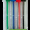 Набор из 4-х шариковых ручек, 4 цвета, в пластиковом пенале