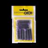 Капсулы с чернилами для перьевых ручек, 10шт, (синие, черные, фиолетовые) 28717