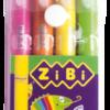 Пастель гелевая, 4 цвета, корпус JUMBO, яркие неоновые цвета