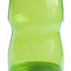 Бутылка для воды 600мл, из пищевого пластика, салатовая