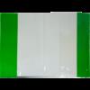 Обложки для тетрадей и учебников прозрачные с клапаном А4, 5 штук, 75мкм 49239