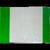 Обложки для тетрадей и учебников прозрачные с клапаном А4, 5 штук, 75мкм