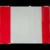 Обложки для учебников прозрачные с клапаном 240х420мм, 5 штук, 75мкм 28896