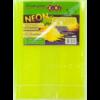 Обложки для учебников универсальные 250 х 420мм NEON с клапаном, 5шт, 125мкм 28941