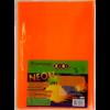 Обложки для учебников универсальные 250 х 420мм NEON с клапаном, 5шт, 125мкм 28936