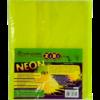 Обложки для учебников универсальные А5 NEON с клапаном, 5шт, 125мкм 28957