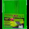 Обложки для учебников универсальные А5 NEON с клапаном, 5шт, 125мкм 28952