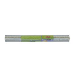 Пленка клейкая для книг FLOWERS, голограмма, серебро 33смх1,2м