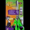 Ножницы детские 152мм, пластиковые 3-D ручки