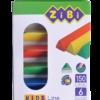 Пластилин 6 цветов, 150г.  ZB.6225 KIDS Line треугольный