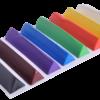 Пластилин 8 цветов, 200г.  ZB.6226 KIDS Line треугольный 28663