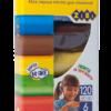 Тесто для лепки 6 шт Х 20г, 6 цветов, картонная упаковка