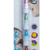 Карандаши для грима для лица и тела МЕТАЛЛИК ПОЗИТИВ на восковой основе, 6 цветов