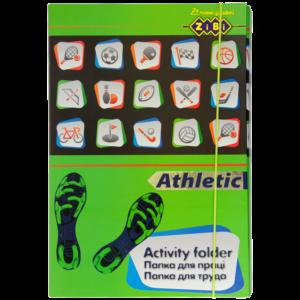Папка для труда Art Effect ATHLETIC, А4+ картонная,  на резинке Kids Line