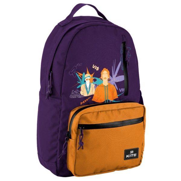 Рюкзак для города Kite City VIS19-949L-1 Время и Стекло