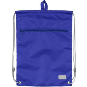 Сумка для обуви с карманом Kite Education Smart K19-601M-34, голубая