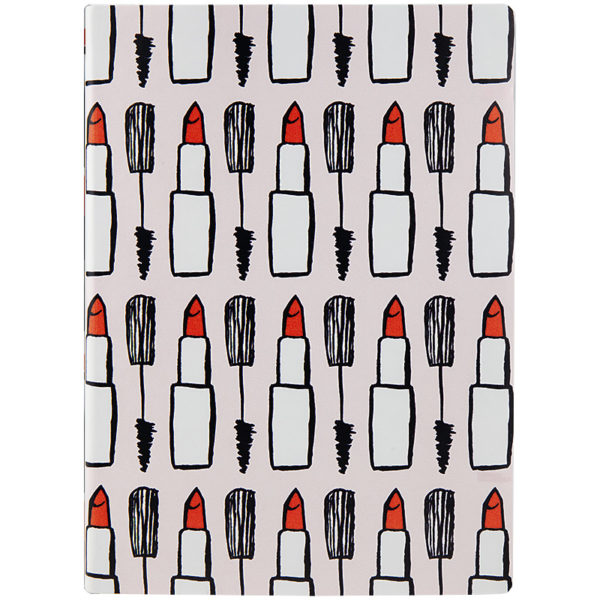 Ежедневник А5 недатированный BRUNNEN АГЕНДА Flex Lipstick BBH, гибкая обложка