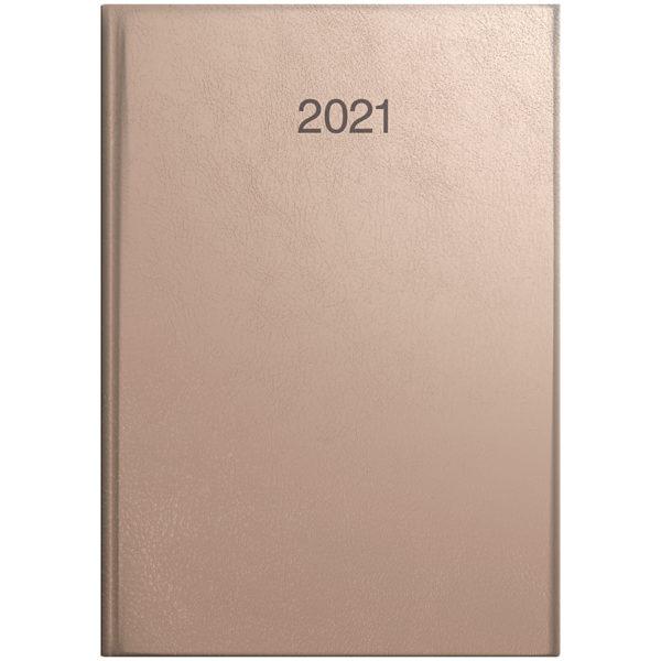 Ежедневник датированный BRUNNEN 2021 СТАНДАРТ INTENTION, золотая роза